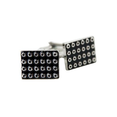 Suction Cups Cufflinks in Black
