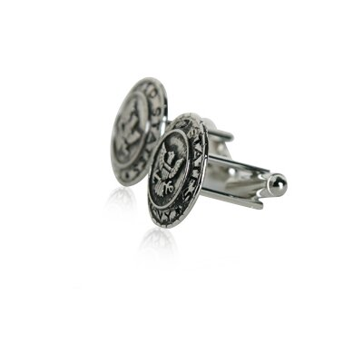Cuff-Daddy US Navy Cufflinks in Silver