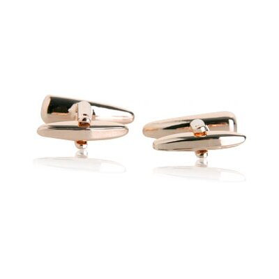 Cuff-Daddy Fang Cufflinks in Rose Gold