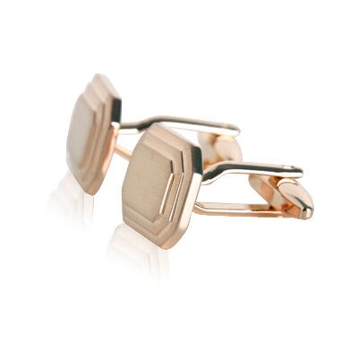 Cuff-Daddy Engravable Cufflinks in Rose Gold