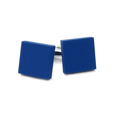 Cuff-Daddy Square Cufflinks in Blue