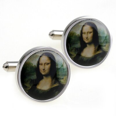 Cuff-Daddy Mona Lisa Cufflinks