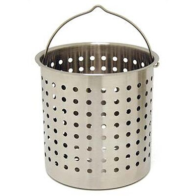 Bayou Classic Stainless Steel Perforated Basket