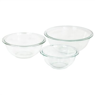 Prepware 3 Piece Mixing Bowl Set