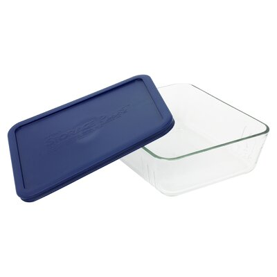 Pyrex Storage 11-Cup Rectangular Dish with Plastic Cover