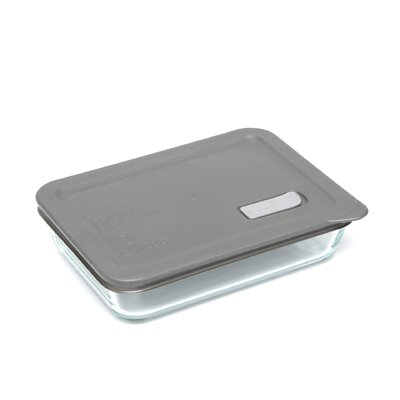 No Leak Lids Rectangular Storage / Baking Dish with Three Cup Capacity