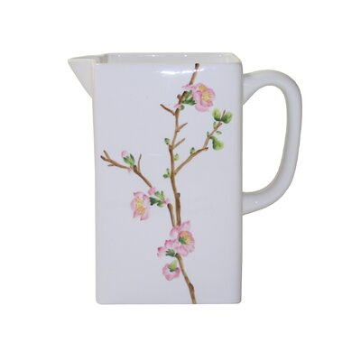Coordinates Cherry Blossom Pitcher