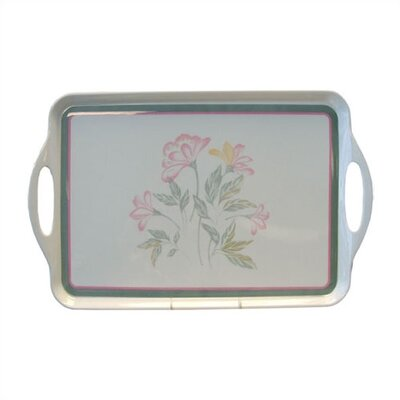 Pink Trio Rectangular Tray