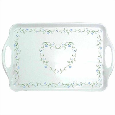 Country Cottage Rectangular Tray