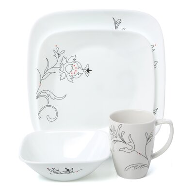 Royal Lines 16 Piece Dinnerware Set