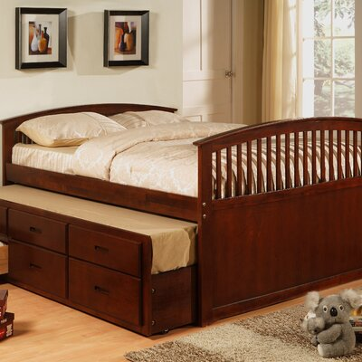 Full / Twin Captain Bed