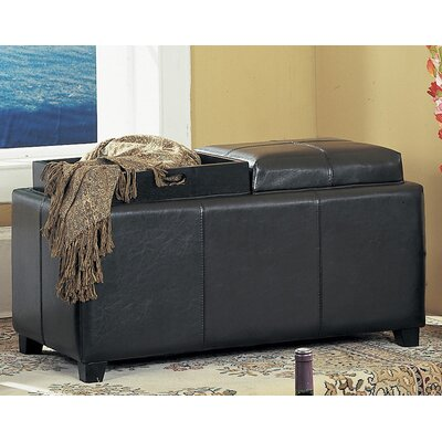 Williams Import Co. Vinyl Storage Bench