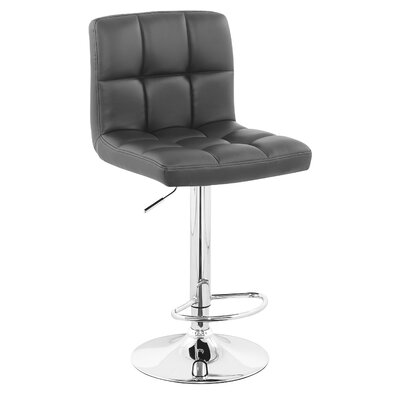 Williams Import Co. Adjustable Bar Stool with Cushion