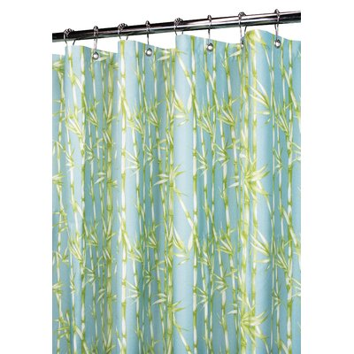 Prints Polyester Bamboo Garden Shower Curtain