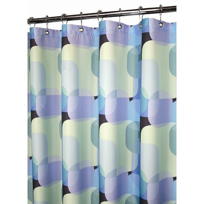 Watershed Prints Polyester Dreamy Squares Shower Curtain