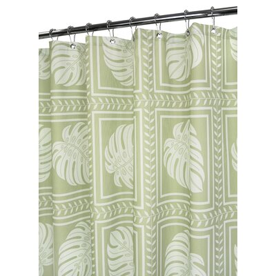 Prints Polyester Island Tropics Shower Curtain