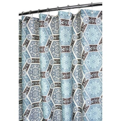 Prints Polyester Renaissance Tiles Shower Curtain