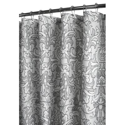 Prints Polyester Rococo Scroll Shower Curtain