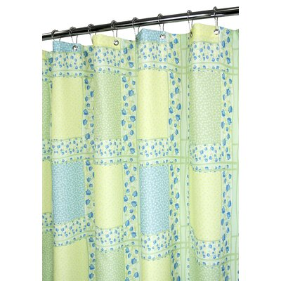Watershed Prints Polyester Tulip Patchwork Shower Curtain