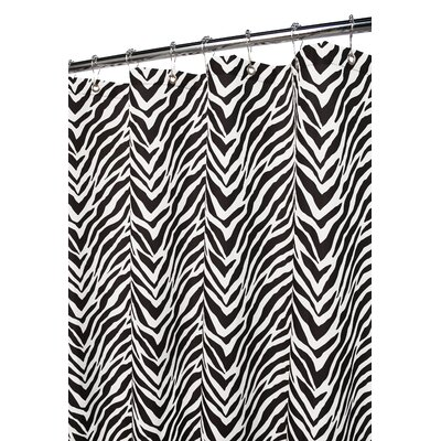 Watershed Zebra Zebra Shower Curtain in White / Black