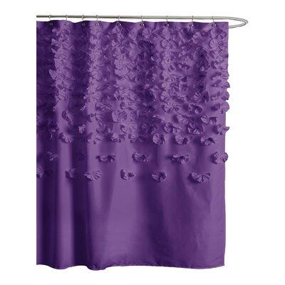 Lush Decor Lucia Polyester Shower Curtain Reviews Wayfair
