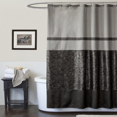 Special Edition by Lush Decor Croc Polyester Shower Curtain