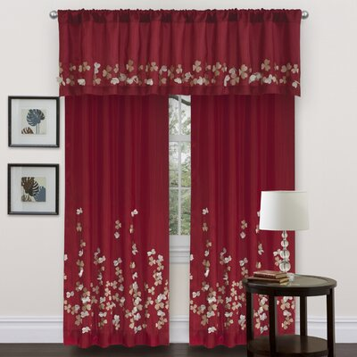 Special Edition by Lush Decor Flower Drop Window Treatment Collection