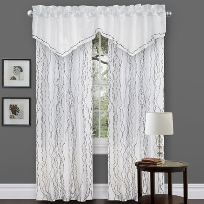 Special Edition by Lush Decor Romana Window Treatment Collection