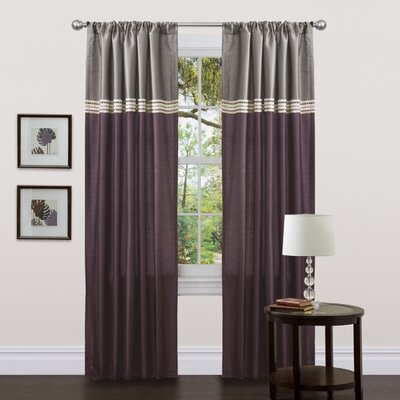 Special Edition by Lush Decor Terra Rod Pocket Curtain Panel