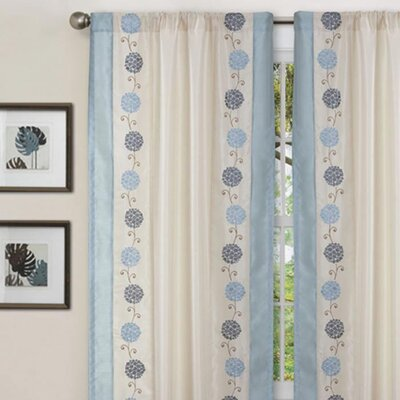 Special Edition by Lush Decor Annabelle Rod Pocket Curtain Single Panel