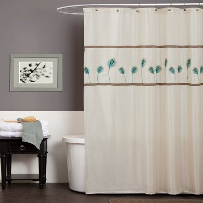 Aurora Polyester Shower Curtain