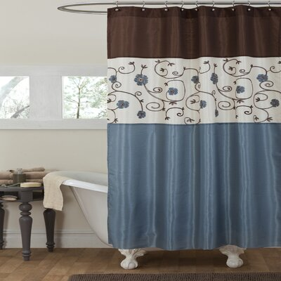 Royal Garden Polyster Shower Curtain