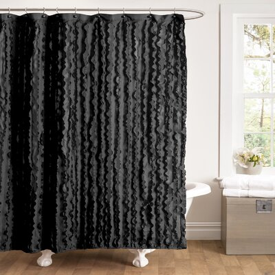 Couture Dreams Chichi Petal Shower Curtain Reviews Wayfair