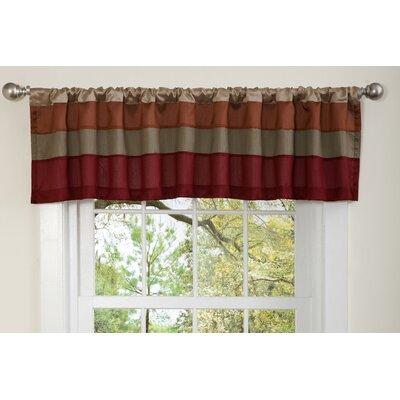 Special Edition by Lush Decor Iman Rod Pocket Tailored Curtain Valance