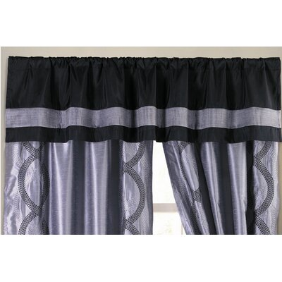 Special Edition by Lush Decor Talon Rod Pocket Tailored Curtain Valance