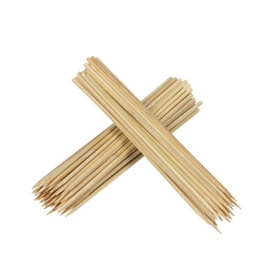 EKCO 100 Piece Mini Bamboo Skewers