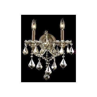 Elegant Lighting Maria Theresa 2 Light Wall Sconce