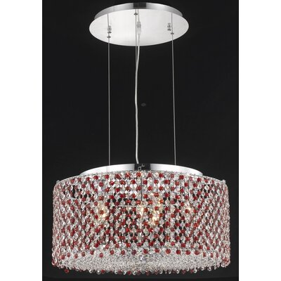 Elegant Lighting Moda 6 Light Pendant