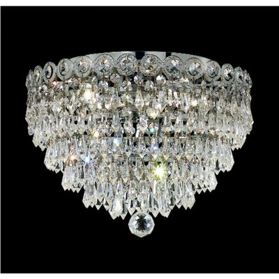 Elegant Lighting Century 6 Light Flush Mount