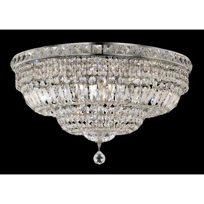 Elegant Lighting Tranquil 12 Light Flush Mount