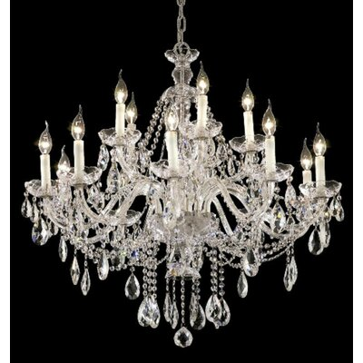 Elegant Lighting Alexandria 15 Light Chandelier