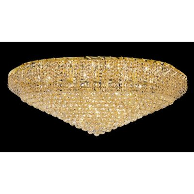 Elegant Lighting Belenus 36 Light Flush Mount