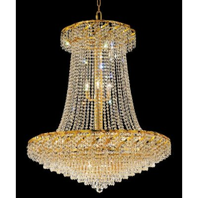 Elegant Lighting Belenus 22 Light  Chandelier with Crystal