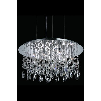 Elegant Lighting Mirage 9 Light Pendant