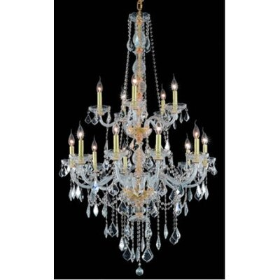 Elegant Lighting Verona 15 Light  Chandelier
