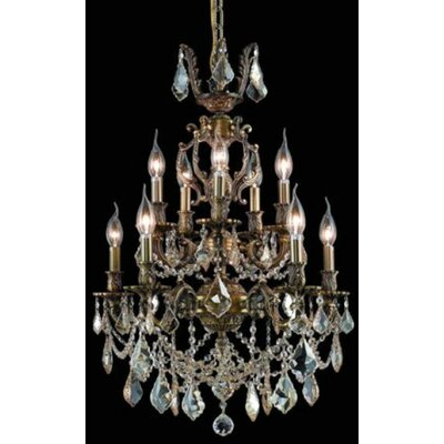 Elegant Lighting Marseille 10 Light Chandelier