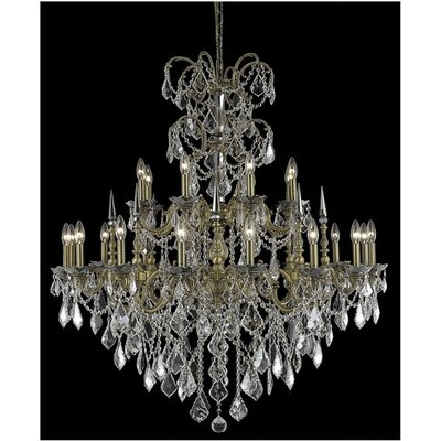 Athena 24 Light Chandelier