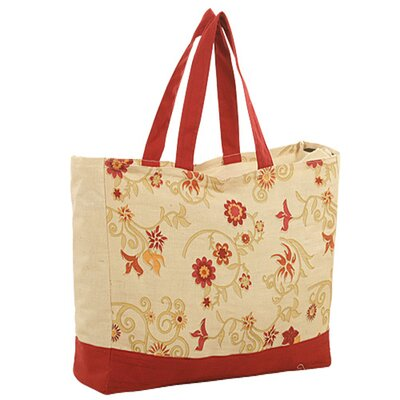 Jute Farm Natural Amorous Tote Bag