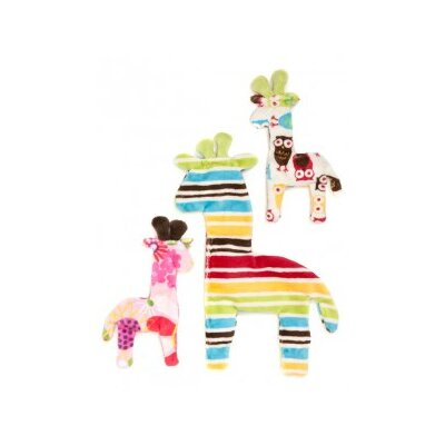 West Paw Design Floppy Giraffe Dog Toy