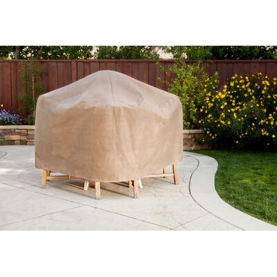 Duck Covers Square Patio Table and Chair Set Cover